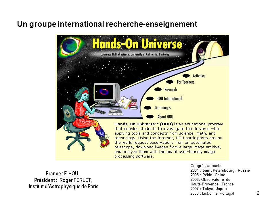 Un groupe international recherche-enseignement