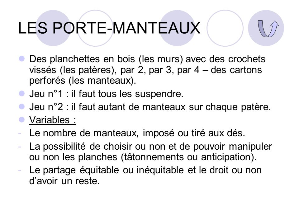 LES PORTE-MANTEAUX