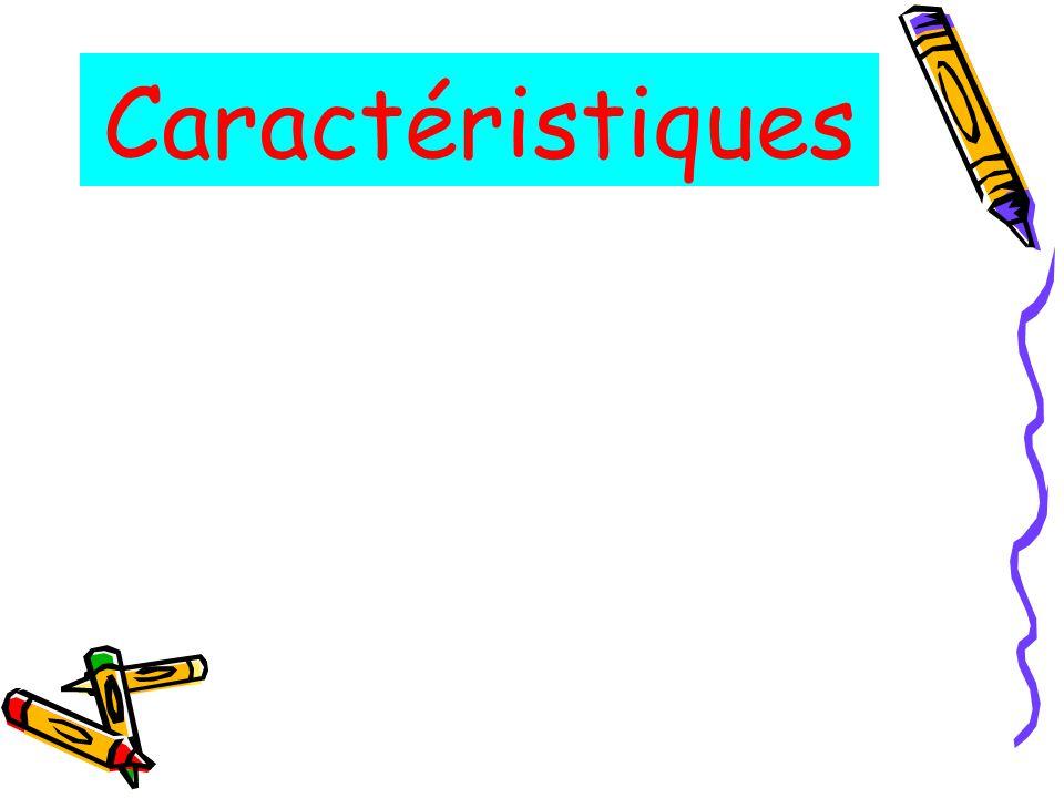 Caractéristiques