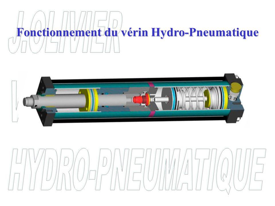 Fonctionnement du vérin Hydro-Pneumatique