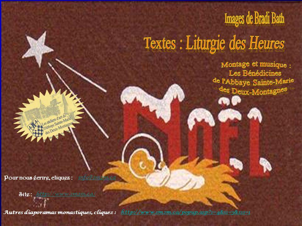 Textes : Liturgie des Heures