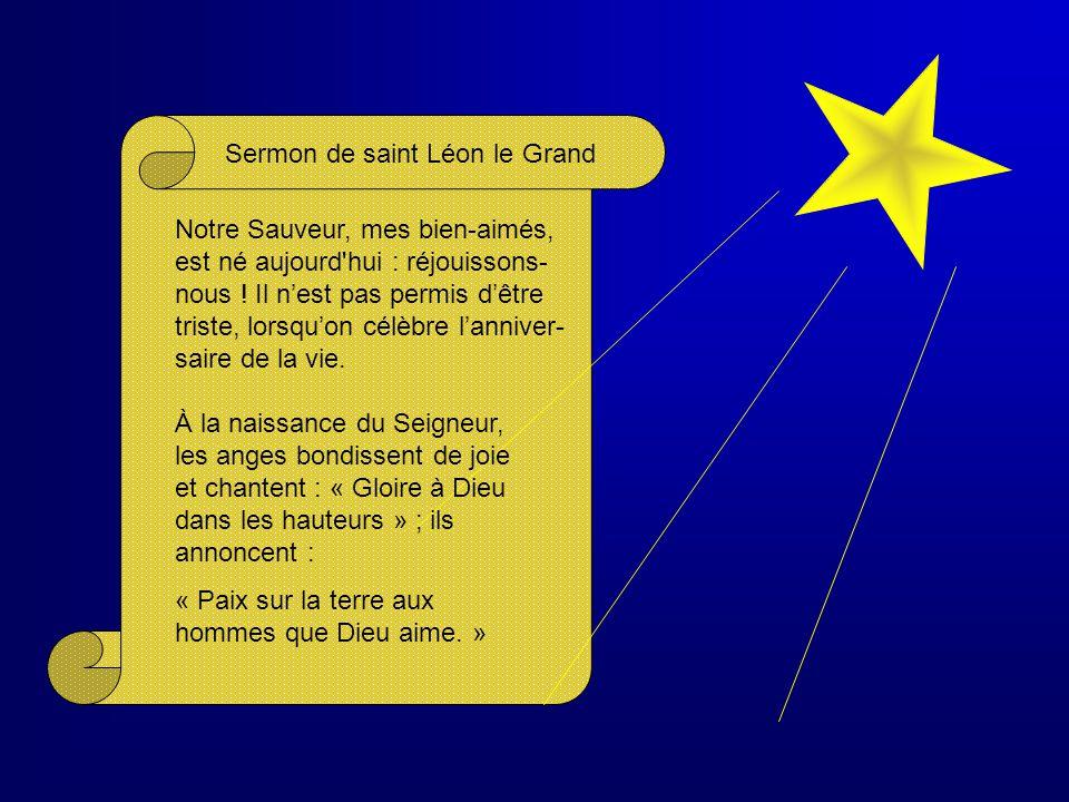 Sermon de saint Léon le Grand