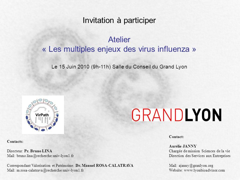 Invitation à participer Atelier