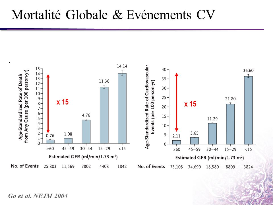 Mortalité Globale & Evénements CV