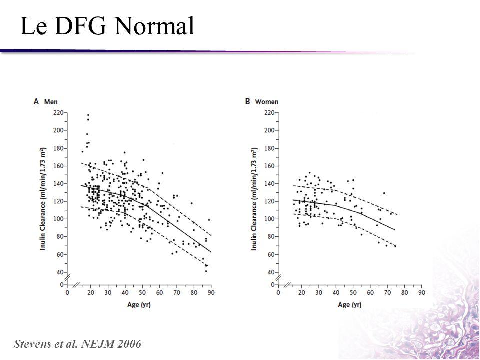 Le DFG Normal Stevens et al. NEJM 2006