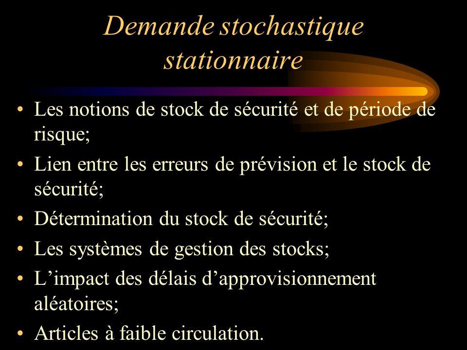 Demande stochastique stationnaire