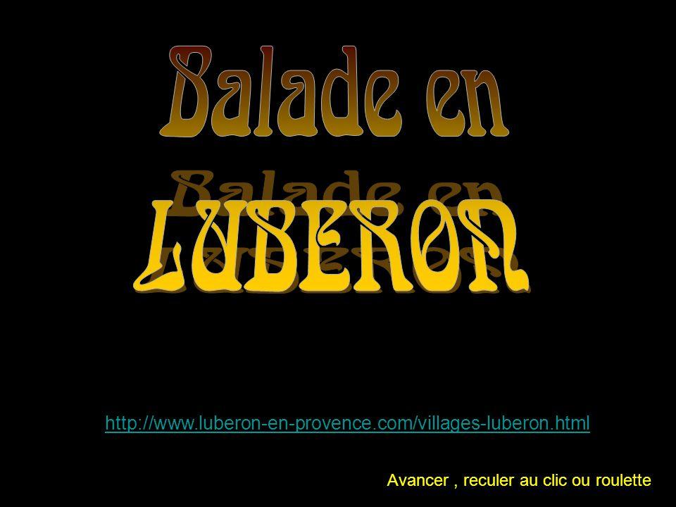 Balade en LUBERON. http://www.luberon-en-provence.com/villages-luberon.html.