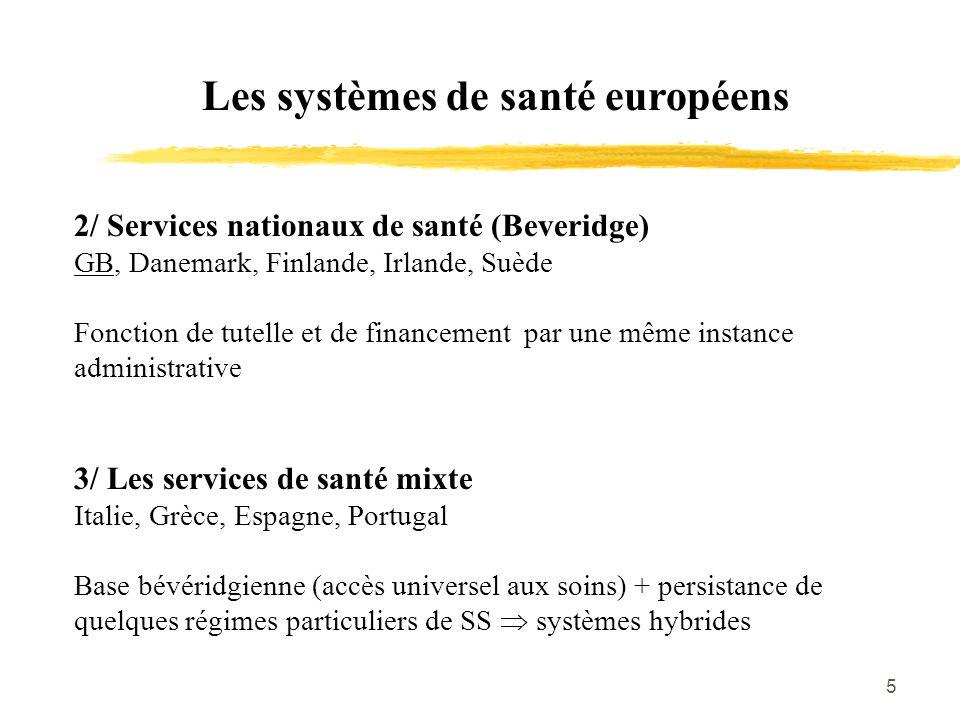 Les systèmes de santé européens