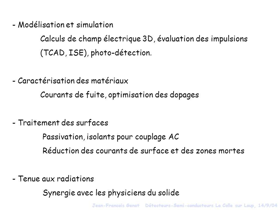 - Modélisation et simulation