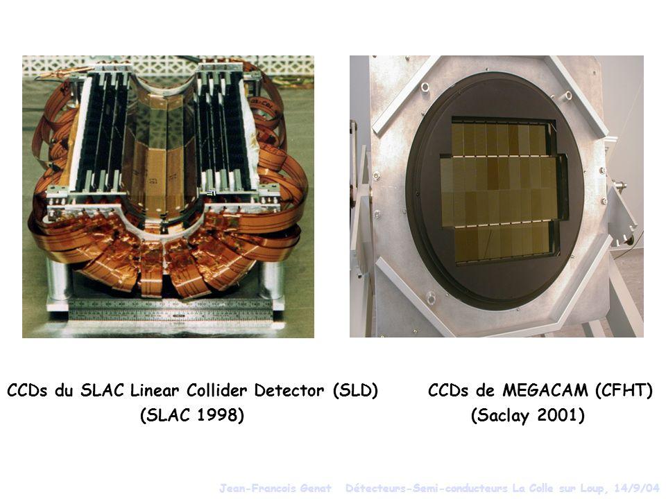 CCDs du SLAC Linear Collider Detector (SLD) CCDs de MEGACAM (CFHT)
