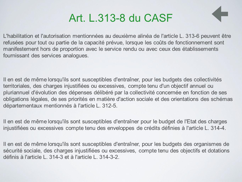 Art. L.313-8 du CASF