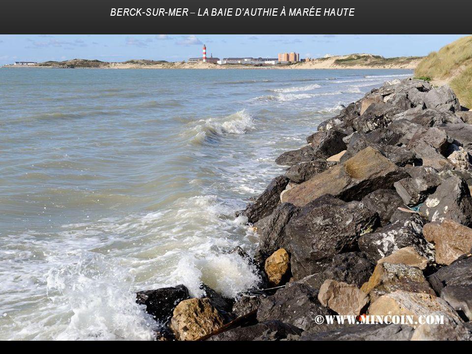 Berck-sur-Mer – La baie d'Authie à marée haute