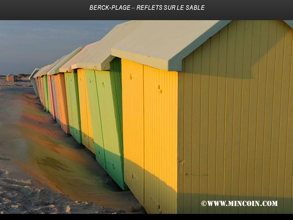 Berck-Plage – Reflets sur le sable