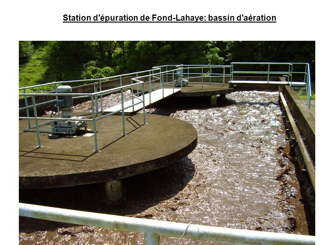 Station d épuration de Fond-Lahaye: bassin d aération