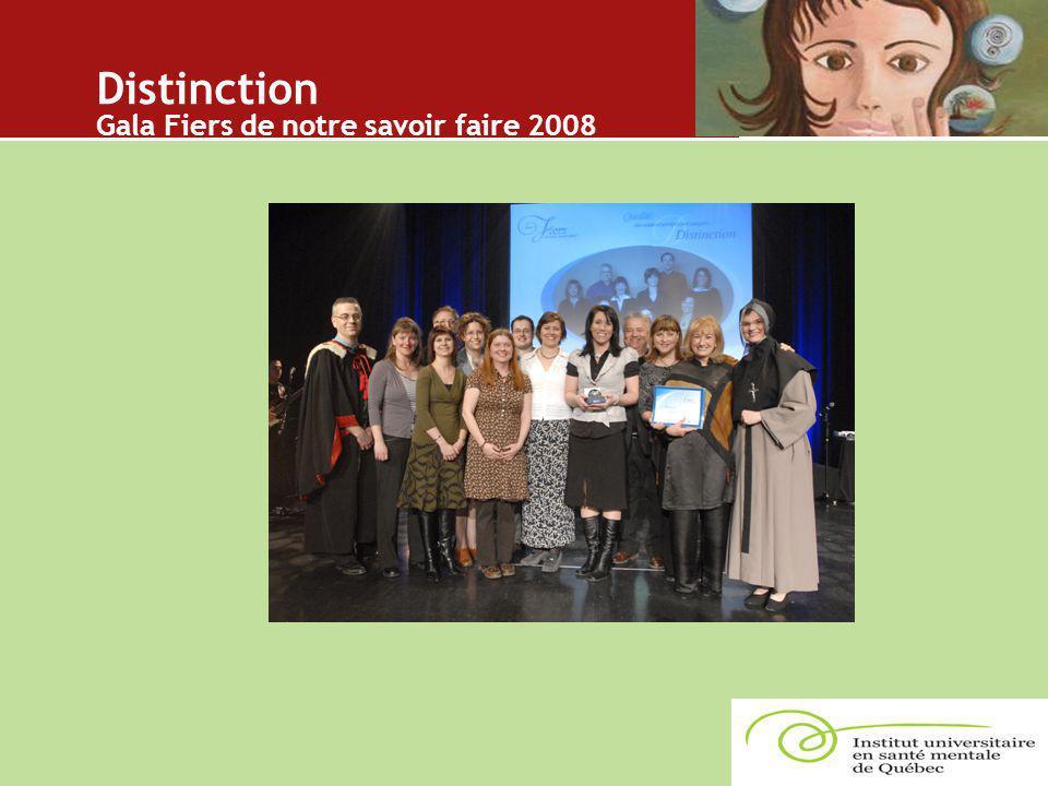 Distinction Gala Fiers de notre savoir faire 2008