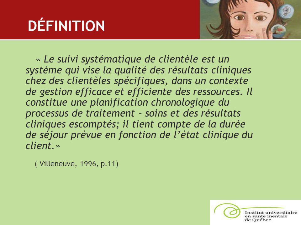 DÉFINITION ( Villeneuve, 1996, p.11)