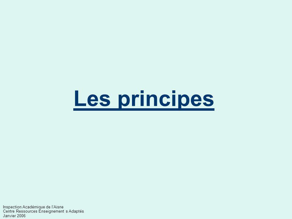Les principes AIS 02 Inspection Académique de l'Aisne