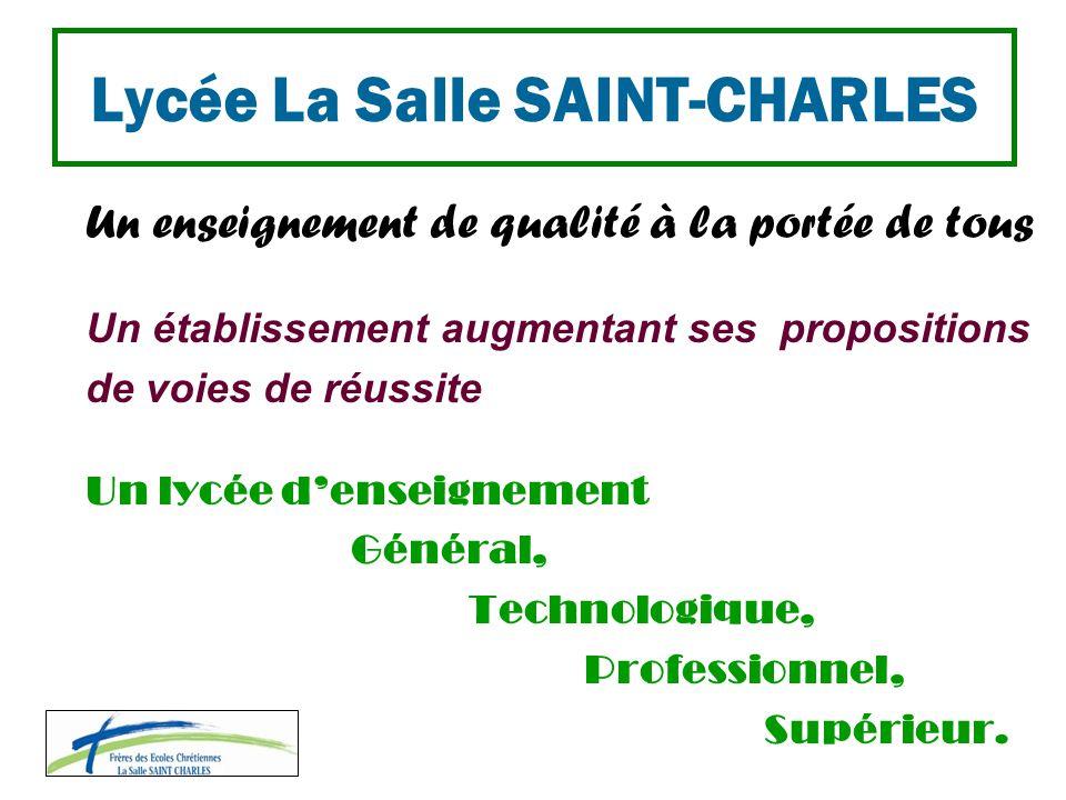 Lycée La Salle SAINT-CHARLES