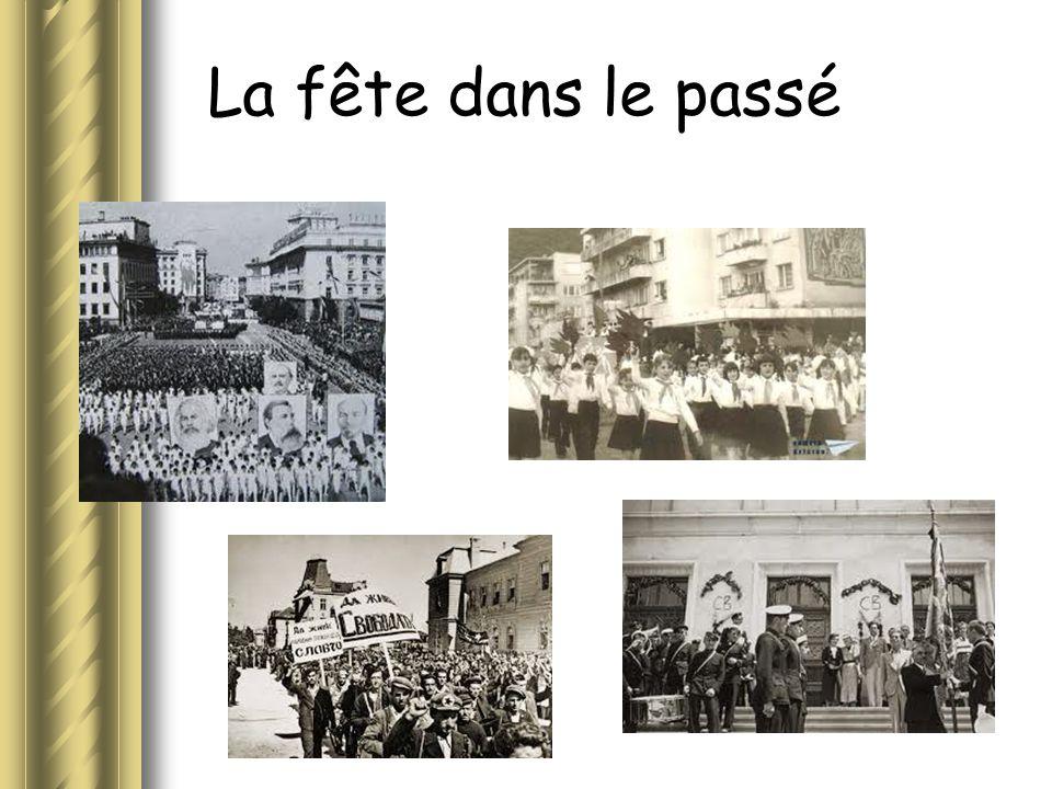 La fête dans le passé