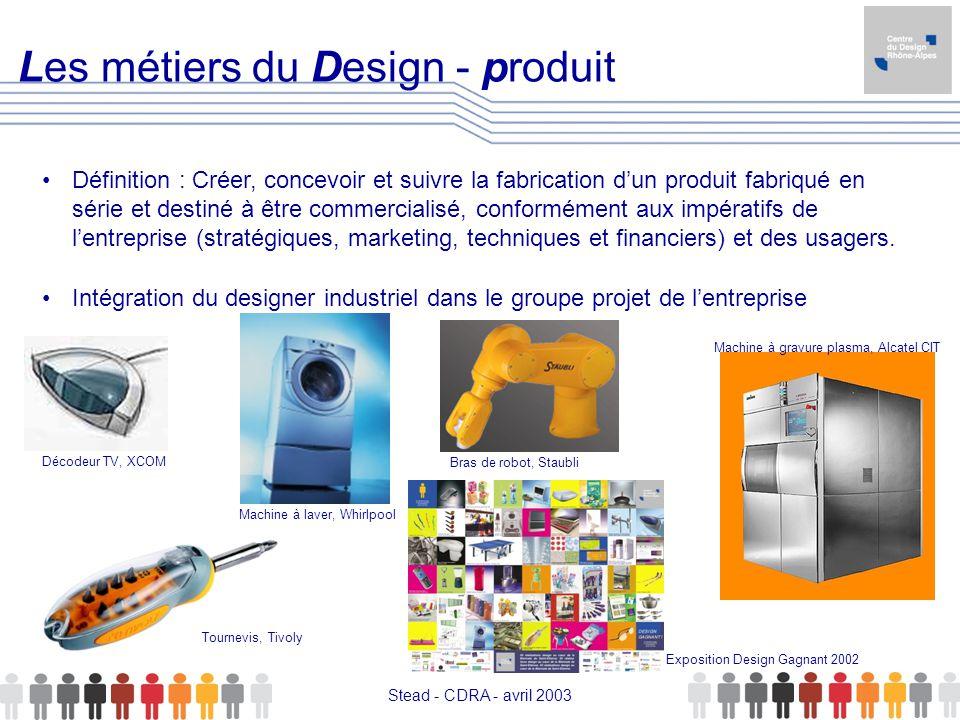 Les métiers du Design - produit