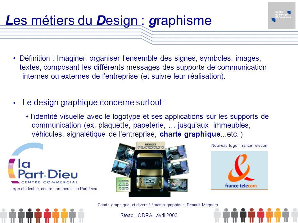 Les métiers du Design : graphisme