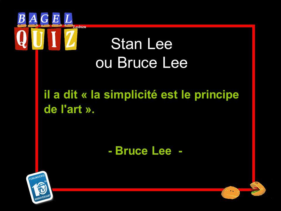 il a dit « la simplicité est le principe de l art ».