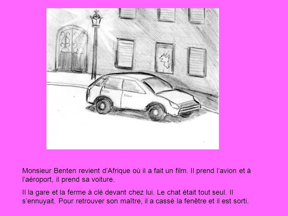 Monsieur Benten revient d'Afrique où il a fait un film