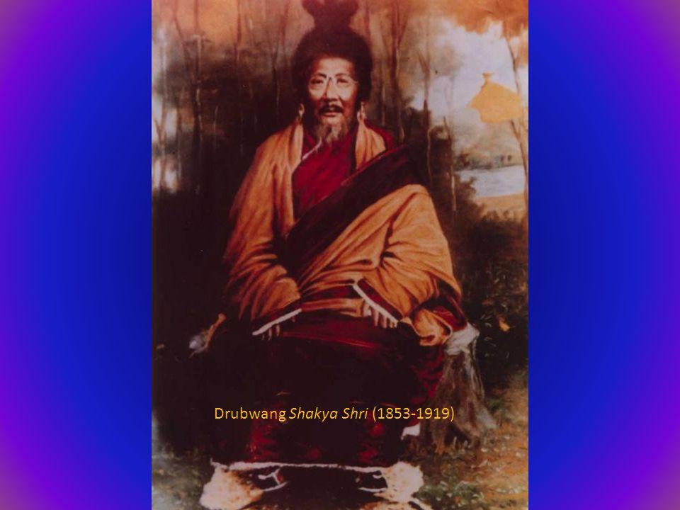Drubwang Shakya Shri (1853-1919)