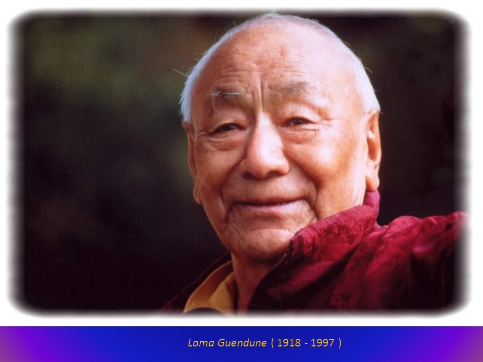 Lama Guendune ( 1918 - 1997 )
