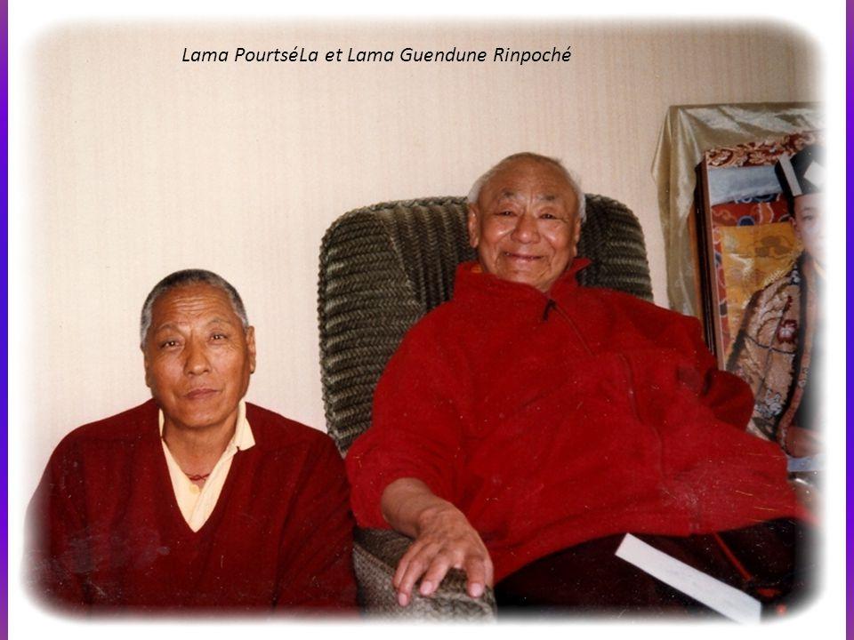 Lama PourtséLa et Lama Guendune Rinpoché