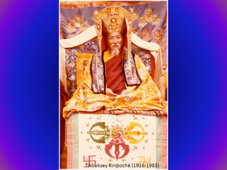 Thouksey Rinpoché (1916-1983)