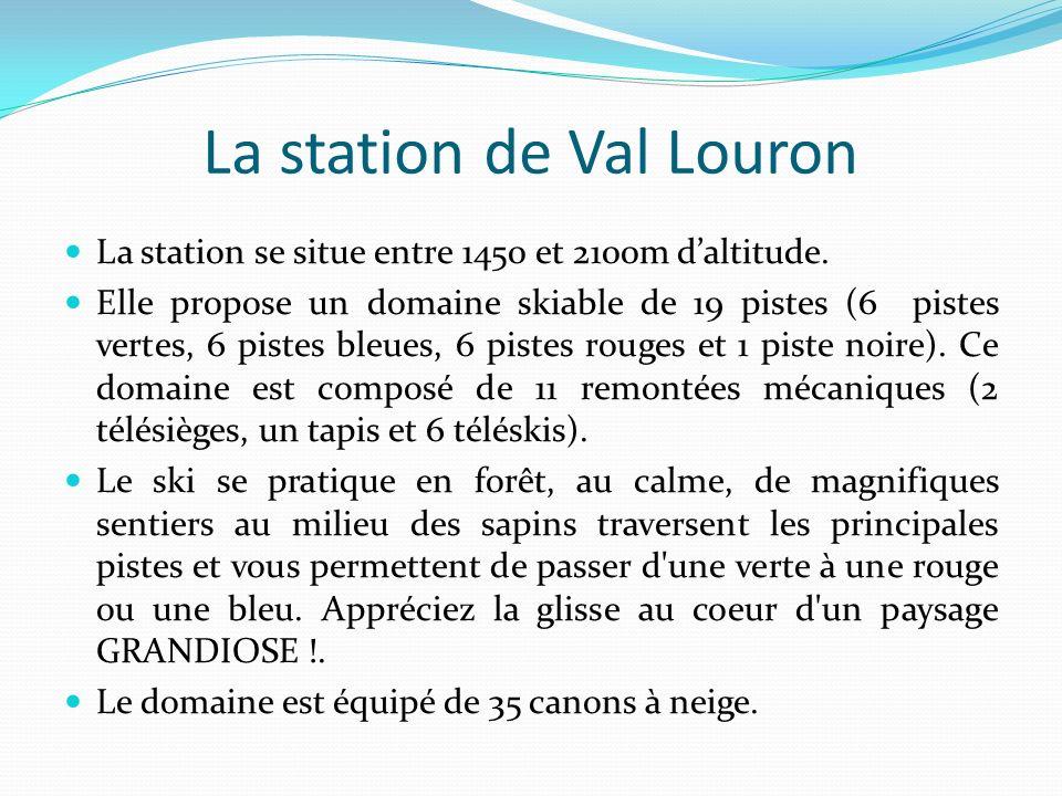 La station de Val Louron