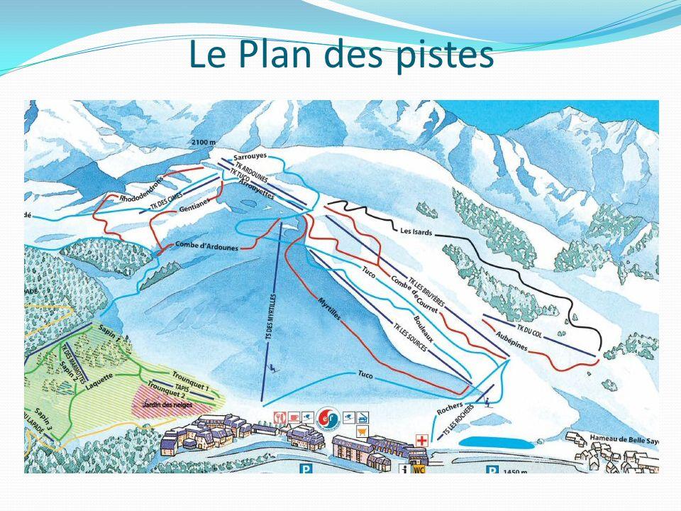 Le Plan des pistes