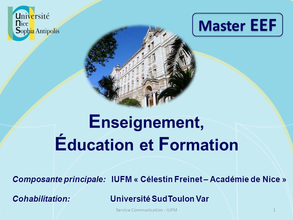 Enseignement, Éducation et Formation