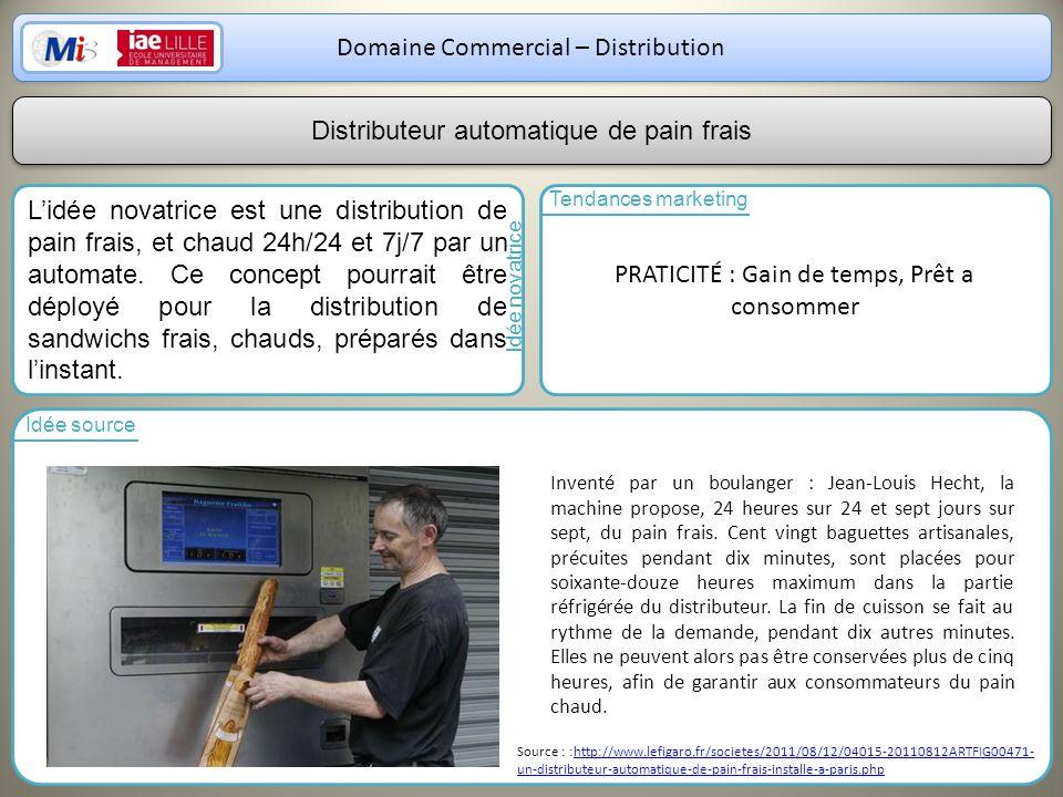 Domaine Commercial – Distribution
