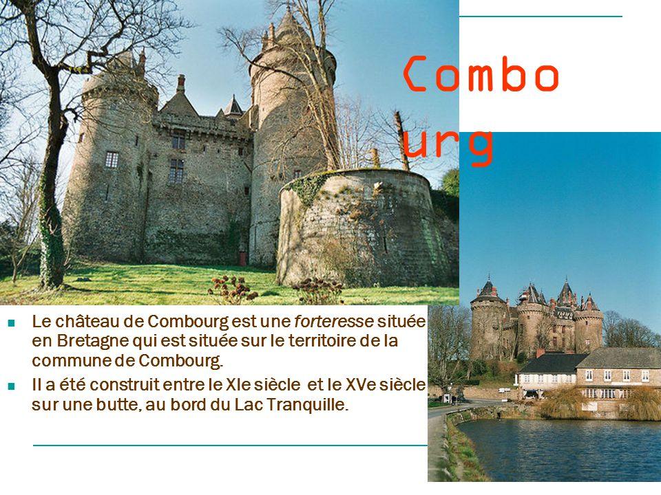 Combourg Le château de Combourg est une forteresse située en Bretagne qui est située sur le territoire de la commune de Combourg.