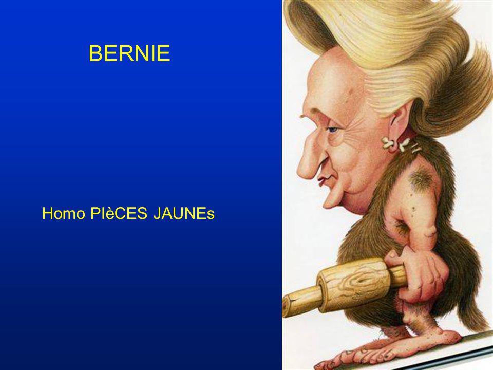 BERNIE Homo PIèCES JAUNEs