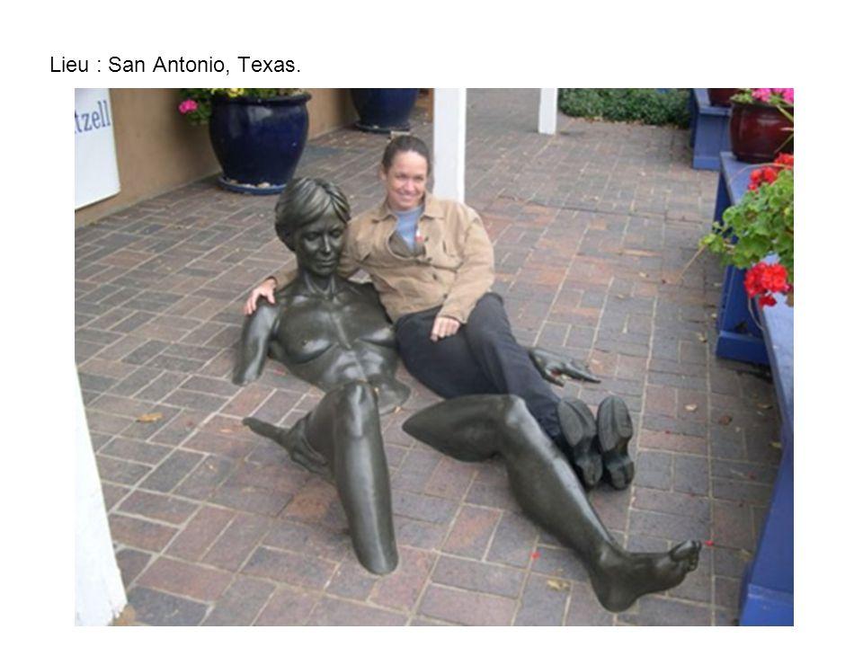 Lieu : San Antonio, Texas.