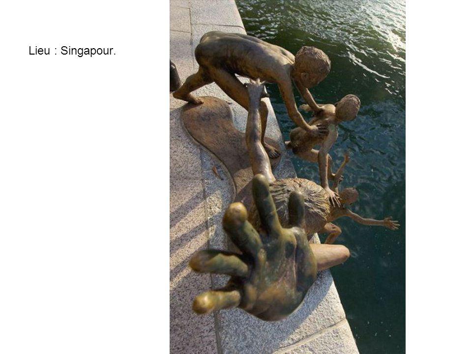 Lieu : Singapour.