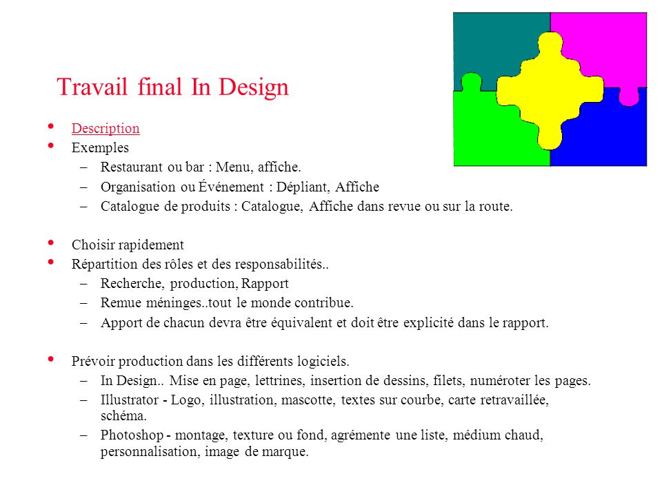 Travail final In Design