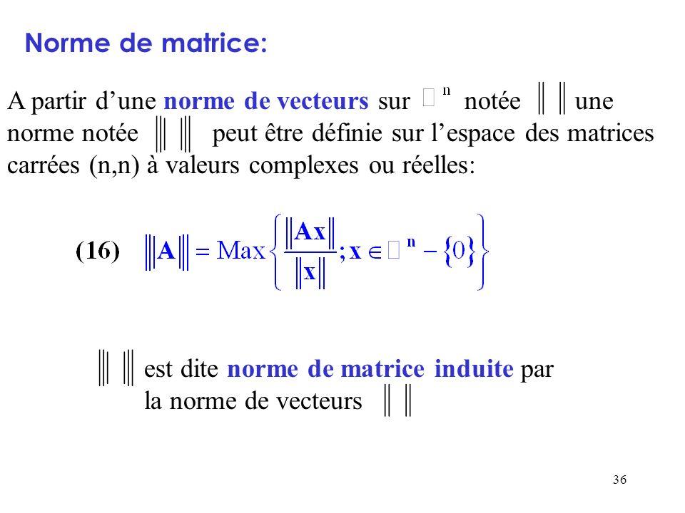 Norme de matrice: