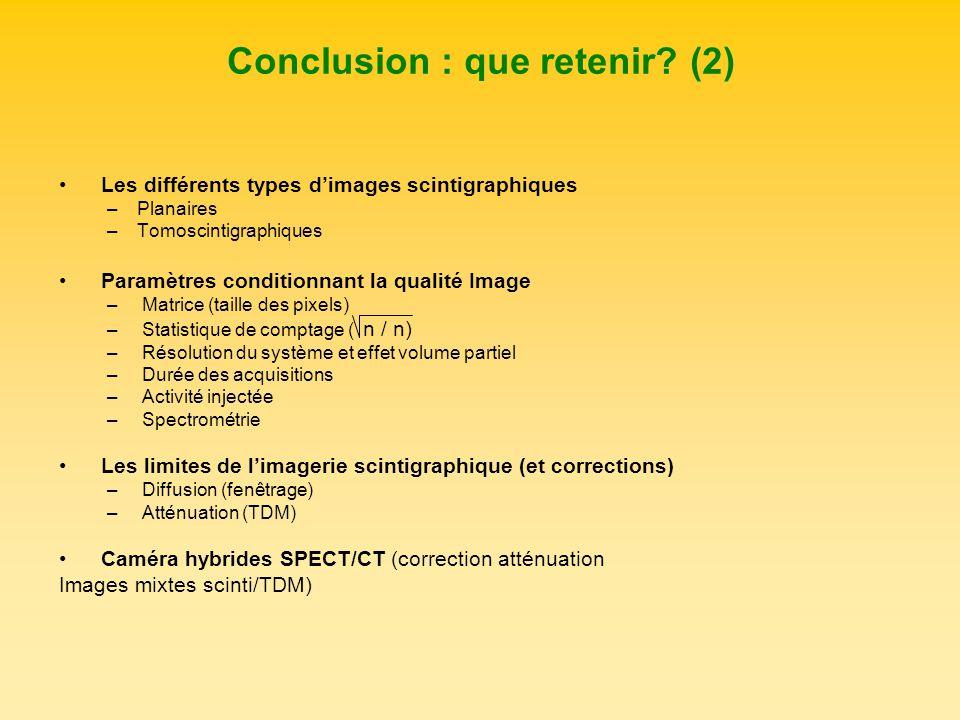Conclusion : que retenir (2)