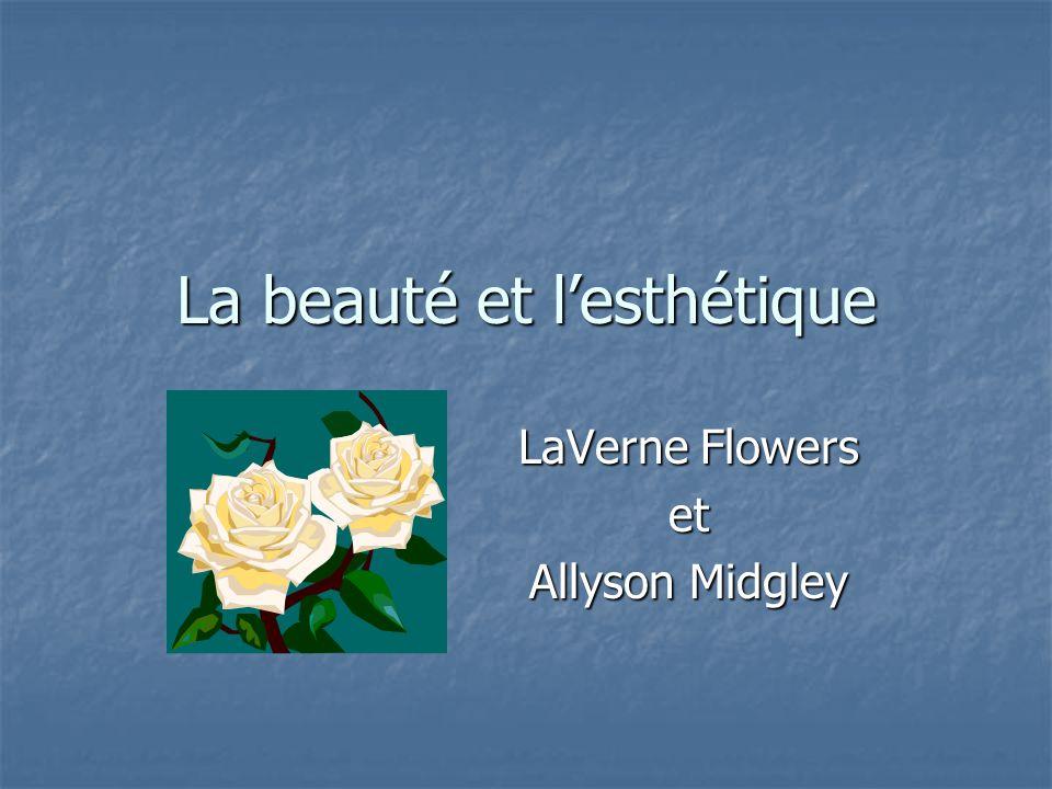 La beauté et l'esthétique