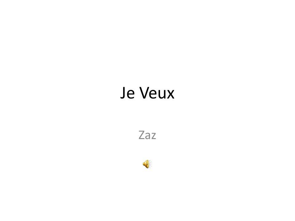 Je Veux Zaz