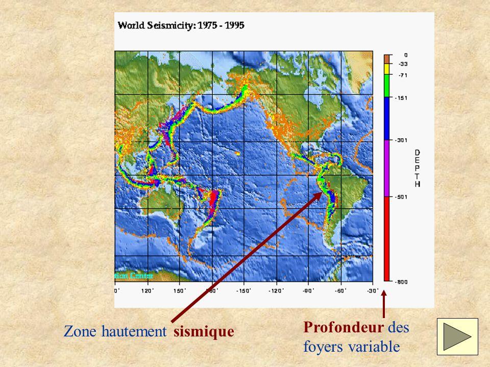 Zone hautement sismique