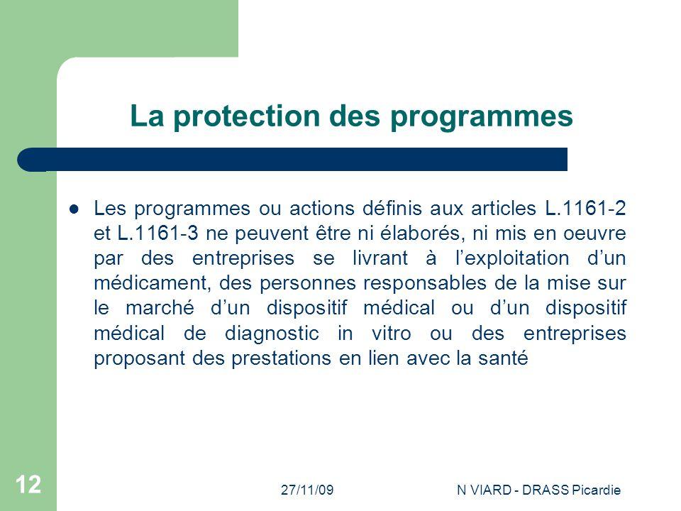 La protection des programmes