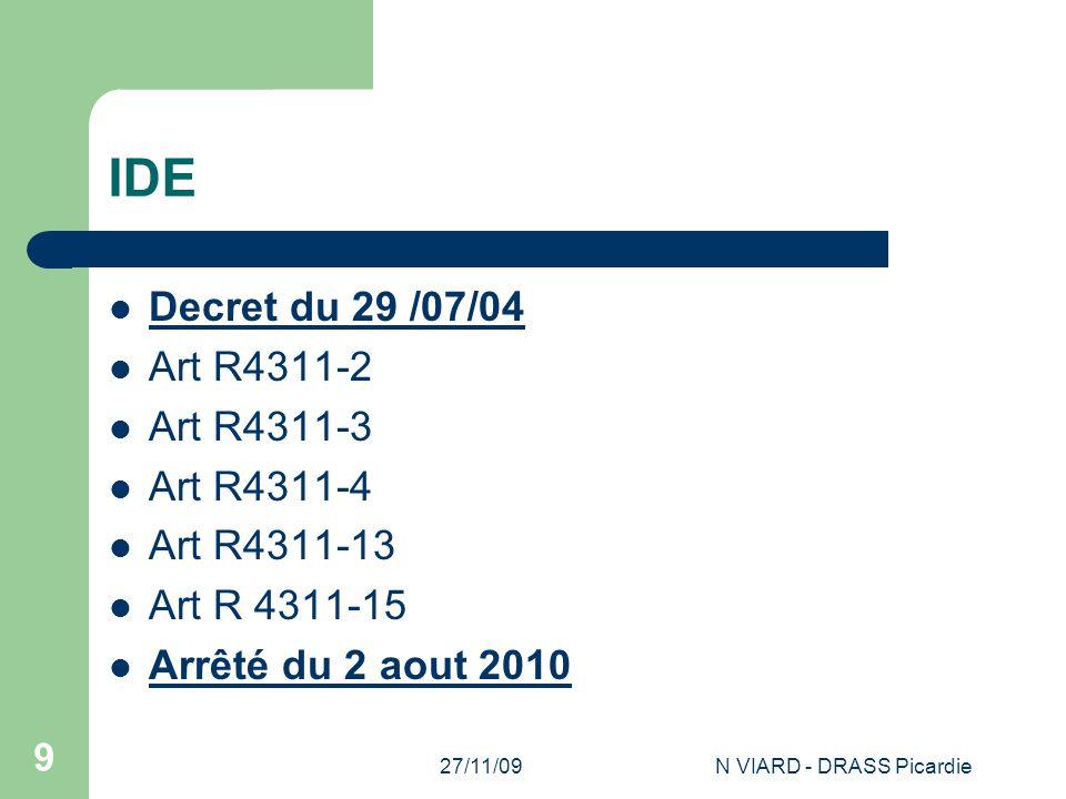 N VIARD - DRASS Picardie
