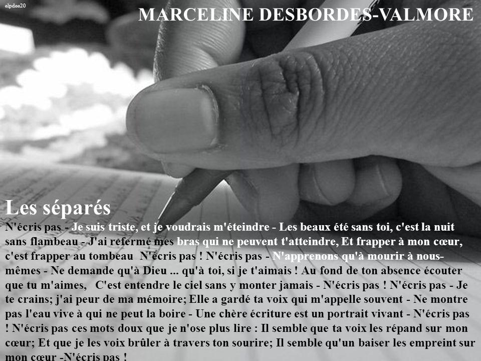 elpdee20 MARCELINE DESBORDES-VALMORE.