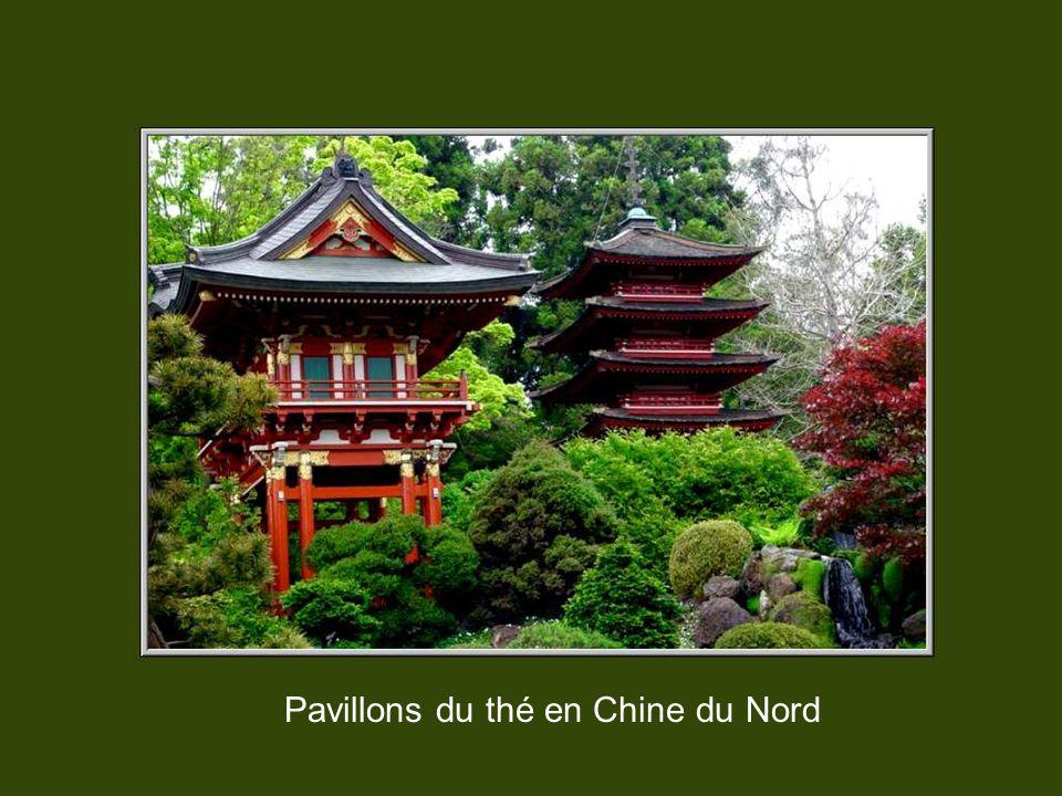 Pavillons du thé en Chine du Nord