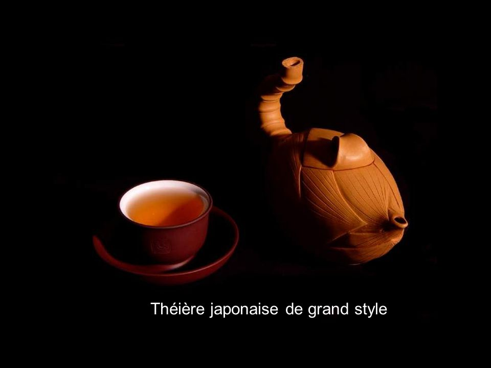 Théière japonaise de grand style